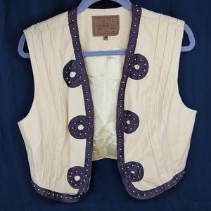 DOUBLE D Ranchwear Charro Vest Studded Western